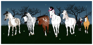 My Nordanner Herd by Astralseed