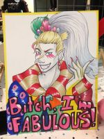 Kefka Commission by MistressMustang