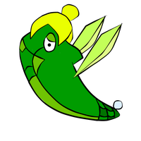 Metapod Tinkerbell by Rk00