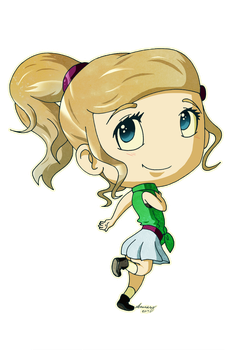 Chibi for My Sister by elenamary