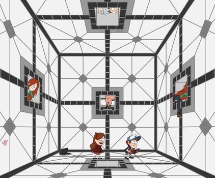 Crossover in Hypercube by ScorchedCube