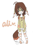 ali - my fursona by alpacasovereign