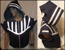 Reflective Cyber Hoody Doublet by RedheadThePirate