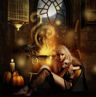 double double toil and trouble by Miss-deviantE