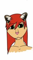 Sal as Cougar hybrid by LilCatSilly