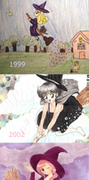 13 Years of Witches (more like 3 years...) by starlightgenie