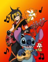 KH: Jammin' some tunes by Metalbeast114