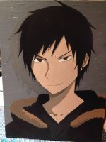 Painted Izaya by martha1101