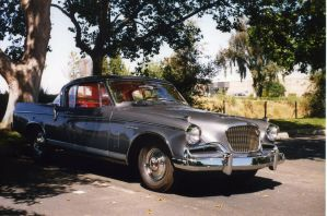 1956 Studebaker Golden Hawk 1 by Skoshi8