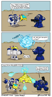 Starcraft Minis: Terran Probe by Draguunthor
