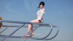 Dead or Alive 5 Last Round: Kokoro 28 (DoF tweak) by Velocihaxor