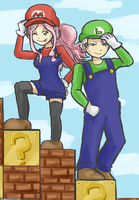 FT: Super Meredy Brothers by blamedorange