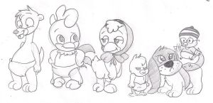 .:Request:. Baby Looney Tunes by applehead302
