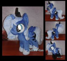 filly Luna with shoes and socks by MLPT-fan