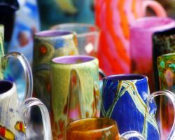 Hand Blown Glass 4 by S-H-Photography