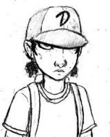 Clementine, Badass mini by DJ-black-n-white