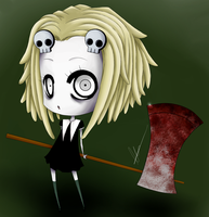 The cute little dead girl by halfblood-angel
