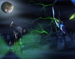 Spawn Grave Digger by Geosammy