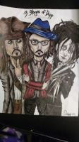 3 stages of Depp by Daystar14