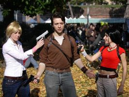 Uncharted 2 cosplay by 14th-division