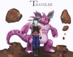 Traveler by Dreams2Paper11