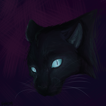 Speedpaint- Panther by Giveortake