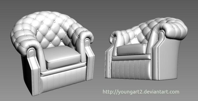 British armchair by Youngart2