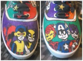 Mini Marvels Shoes by glittersprite