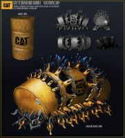CAT by Crashmgn
