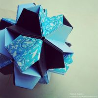 Modular Origami (Little Turtle) 2 by MadSoulChild