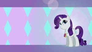 Rarity Wallpaper by DixieRarity