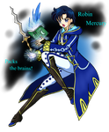 -Super Smash Senshi- Robin Mercury by Call-Of-The-Indie