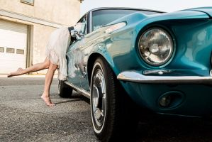67 Ford Mustang by MissCandy08