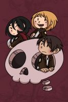Attack on Titan - Them cuties by secondlina