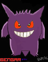 Gengar by Bowser81889