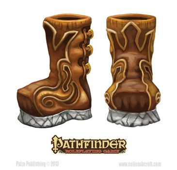 Pathfinder-Inner Sea Gods-Boots of the earth by Colin-Ashcroft