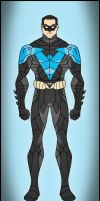 Nightwing - The Dark Knight Version by DraganD