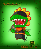 The Flying Piranha: P. by MKDrawings