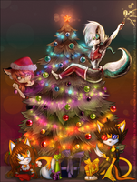 Cristmas tree by SiaRyzh