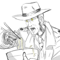 Nick Valentine Fucking Loves Noodles by ShinyStrawberry