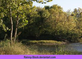 River banks-evening-STOCK by Rainny-Stock