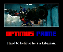 Optimus Prime Motivational by MetroXLR99