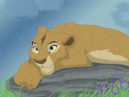 Mvua in the rain by melted-gummy-bears