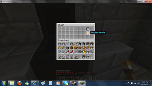 Minecraft - GOLDEN APPLE! 10/14/12 by SecminourTheThird