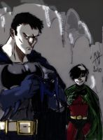 batman and robin by scarecrowhassan