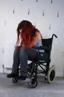 Wheelchair 8 by Tasastock