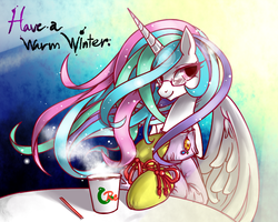 Celestia's winter message by RenoKim
