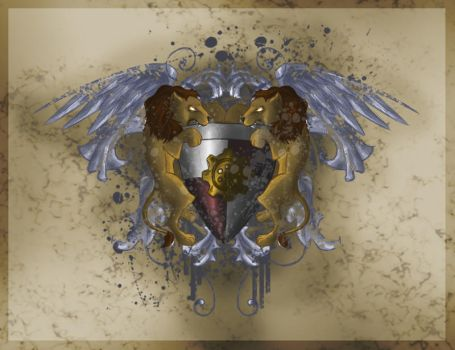 Lion Crest by aternox