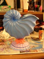 Sea Shell Statue by KM-Galleries