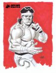 Ricky the Dragon Steamboat by Joseph Cooper by AshcanAllstars
